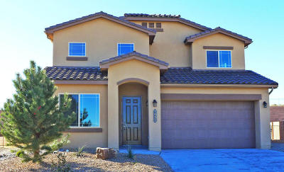 Rio Rancho Single Family Home For Sale: 7051 Wrangell Loop NE