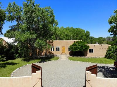 Bernalillo County Single Family Home For Sale: 9715 Guadalupe Trail NW