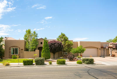 Bernalillo County Single Family Home For Sale: 8104 Via Alegre NE