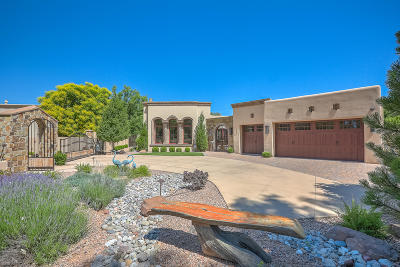 Los Ranchos Single Family Home For Sale: 811 Los Prados De Guadalupe Drive