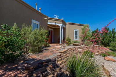 Placitas Single Family Home For Sale: 15 Misty Mesa Court