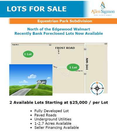 Edgewood Residential Lots & Land For Sale: 50 Equestrian Road