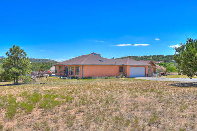 Tijeras Single Family Home For Sale: 11 Steeplechase Drive