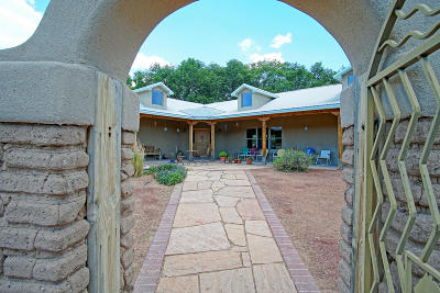 Single Family Home For Sale: 7163 Corrales Road