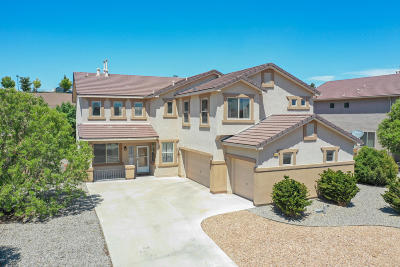 Rio Rancho Single Family Home For Sale: 4004 Cholla Drive NE