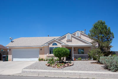 Rio Rancho Single Family Home For Sale: 6997 Albany Hills Drive NE