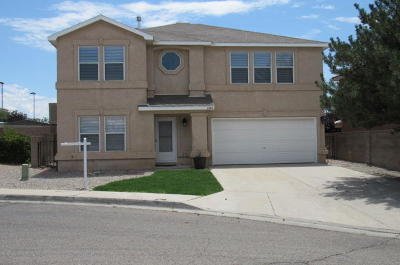 Albuquerque Single Family Home For Sale: 6804 Ladrillo Place NE