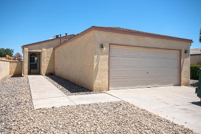 Rio Rancho Single Family Home For Sale: 1109 Sand Dune Road NE