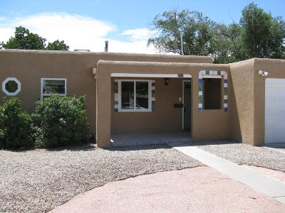 Albuquerque Single Family Home For Sale: 1109 Lafayette Drive NE