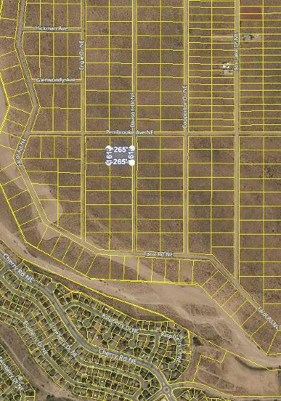 Rio Rancho NM Residential Lots & Land For Sale: $7,500