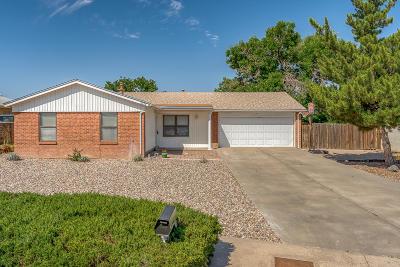 Albuquerque Single Family Home For Sale: 8228 Otero Avenue NE