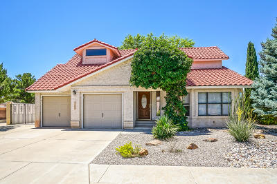 Bernalillo County Single Family Home For Sale: 10545 Calle Sombra NW
