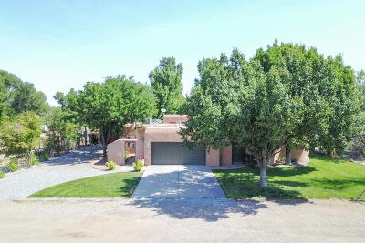 Los Ranchos Single Family Home For Sale: 237 Green Valley Road NW