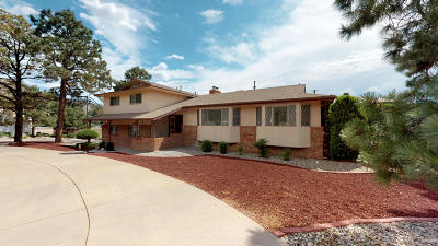 Bernalillo County Single Family Home For Sale: 13212 Montgomery Boulevard NE