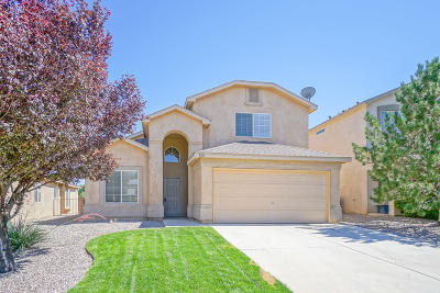 Rio Rancho Single Family Home For Sale: 528 Peaceful Meadows Drive NE
