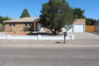 Rio Rancho Single Family Home For Sale: 3705 35th Circle SE