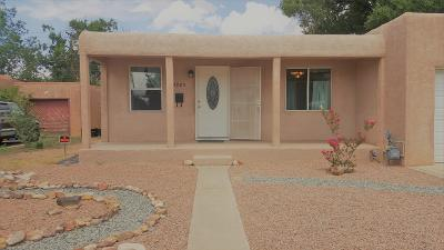 Albuquerque Single Family Home For Sale: 4925 Burton Avenue SE