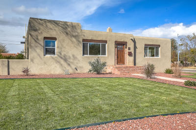 Albuquerque Single Family Home For Sale: 3529 Monte Vista Boulevard NE