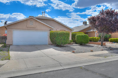 Albuquerque Single Family Home For Sale: 501 Ketch Drive NW
