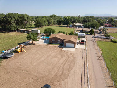 Valencia County Single Family Home For Sale: 77 El Cerro Loop