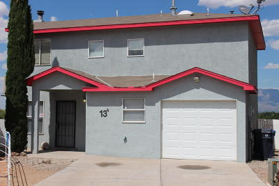 Albuquerque Single Family Home For Sale: 136 Casita Vista Place NW