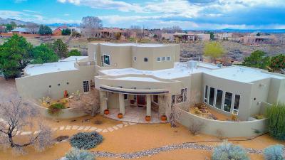 Single Family Home For Sale: 11000 Palomas Avenue NE