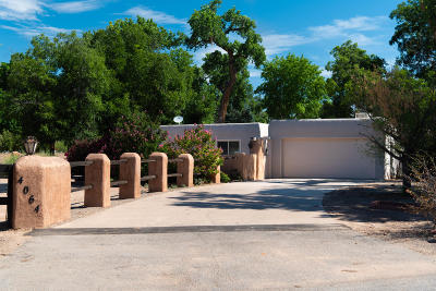 Los Ranchos Single Family Home For Sale: 4064 Dietz Farm Circle NW