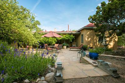 Placitas Single Family Home For Sale: 44 Camino De La Rosa Castilla