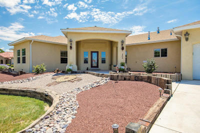 Valencia County Single Family Home For Sale: 305 Luscombe Lane