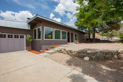 Single Family Home For Sale: 12919 Montgomery Boulevard NE