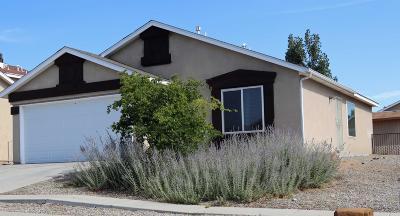 Albuquerque Single Family Home For Sale: 8519 Stony Creek Road SW
