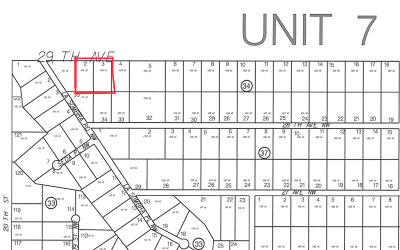 Rio Rancho Residential Lots & Land For Sale: 29th Ave. (U7, B34, L2&3) NW