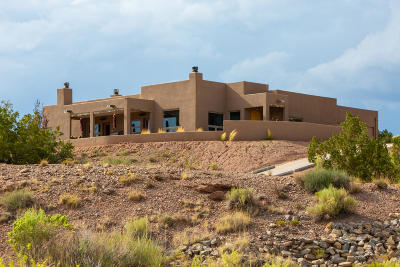 Placitas Single Family Home For Sale: 27 Calle Chamisa