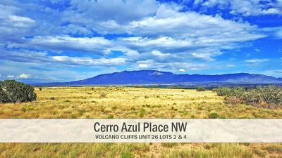 Albuquerque Residential Lots & Land For Sale: Cerro Azul Place NW