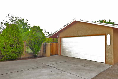 Albuquerque Single Family Home For Sale: 2415-B Mountain Road NW