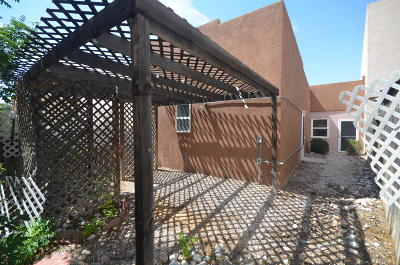 Albuquerque Attached For Sale: 5108 Western Breeze Court NW