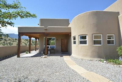 Placitas Single Family Home For Sale: 6 Camino Chiquito