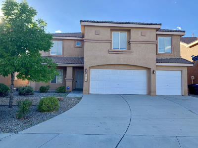 Albuquerque Single Family Home For Sale: 1015 Pacaya Drive NW