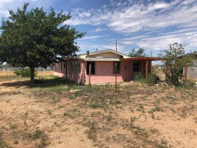 Valencia County Single Family Home For Sale: 17 Manzano View Road