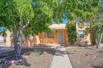 Albuquerque Single Family Home For Sale: 208 Chula Vista Place NE