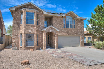 Albuquerque Single Family Home For Sale: 4409 Cactus Hills Place NW