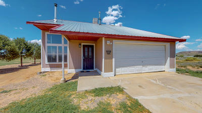 Valencia County Single Family Home For Sale: 30 Corona Road