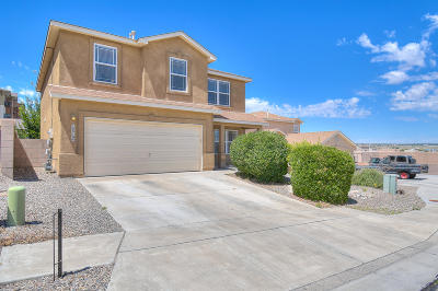 Bernalillo County Single Family Home For Sale: 10819 Monterey Bay Court NW