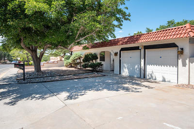 Albuquerque Single Family Home For Sale: 8705 Osuna Road NE