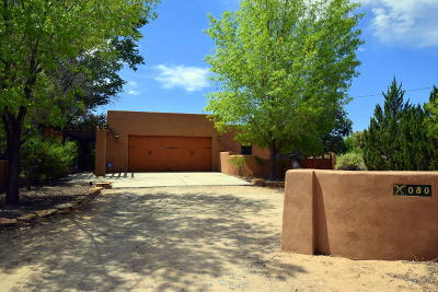 Corrales Single Family Home For Sale: 80 Desert Willow Road
