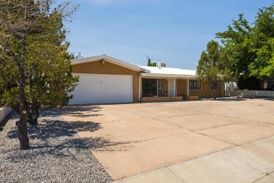 Albuquerque Single Family Home For Sale: 329 Yucca Drive NW