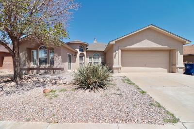 Los Lunas Single Family Home For Sale: 2264 Sidewinder Street SW