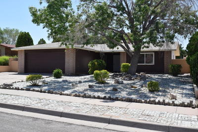Single Family Home For Sale: 7808 Calle De Plata NE