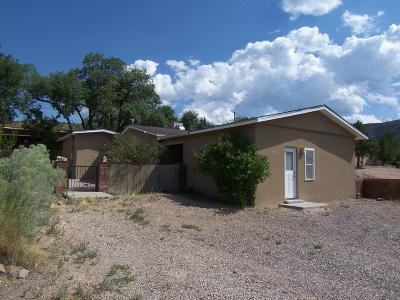Placitas Single Family Home For Sale: 660 State Highway 165