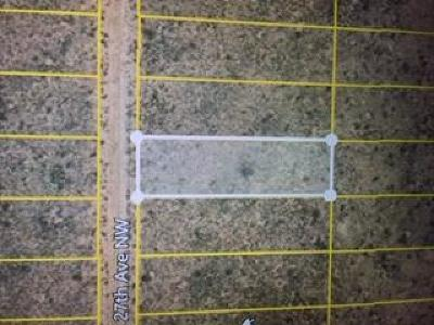 Rio Rancho Residential Lots & Land For Sale: 27th Ave